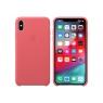 Funda iPhone XS MAX Apple Leather Case Peony Pink