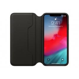 Funda iPhone XS MAX Apple Leather Folio Black