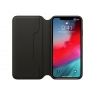 Funda iPhone XS MAX Apple Leather Folio Black