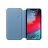 Funda iPhone XS MAX Apple Leather Folio Cape COD Blue