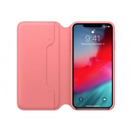 Funda iPhone XS MAX Apple Leather Folio Peony Pink