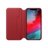 Funda iPhone XS MAX Apple Leather Folio red