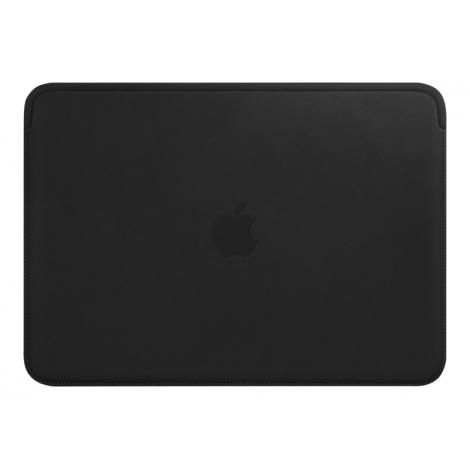 "Funda Portatil Apple 12"" Leather Black para MacBook 12"