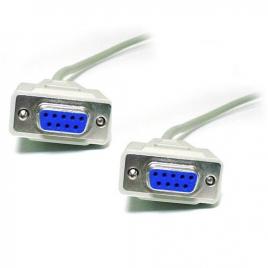 Cable Kablex 9 Hembra / 9 Hembra Null Modem 2M