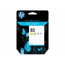 Cartucho HP 82 Yellow Designjet 500/800PS