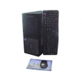 PC Ecomputer Serie Business CI3 7100 4GB 240GB SSD Dvdrw W10P