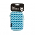 "Funda Disco Duro Smile 2.5"" Blue Geometric"