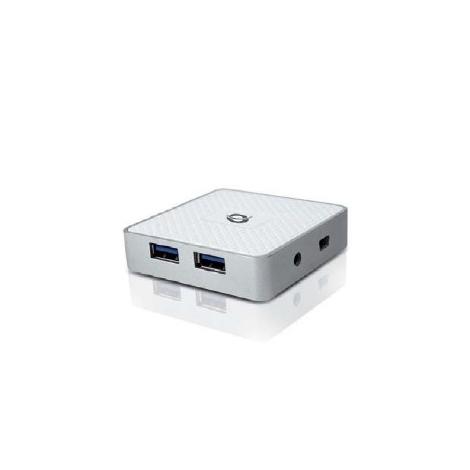 HUB Conceptronic USB 4 Puertos 3.0 White