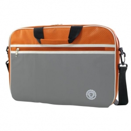 "Maletin Portatil E-VITTA 11"" -  12,5"" Retro Grey/Orange"