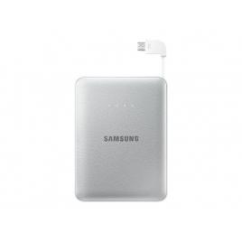 Bateria Externa Universal Samsung 8.400MAH Micro USB Silver