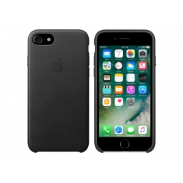 Funda iPhone 7 Apple Leather Case Black