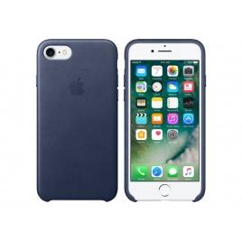 Funda iPhone 7 Apple Leather Case Midnight Blue