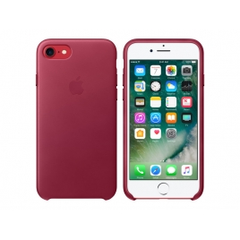 Funda iPhone 7 Apple Leather Case red Fruits