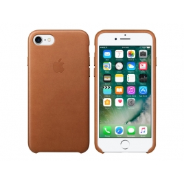 Funda iPhone 7 Apple Leather Case Saddle Brown