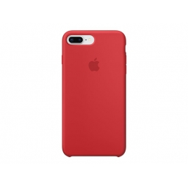Funda iPhone 8 / 7 Plus Apple Silicone red