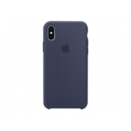 Funda iPhone X Apple Silicone Midnight Blue