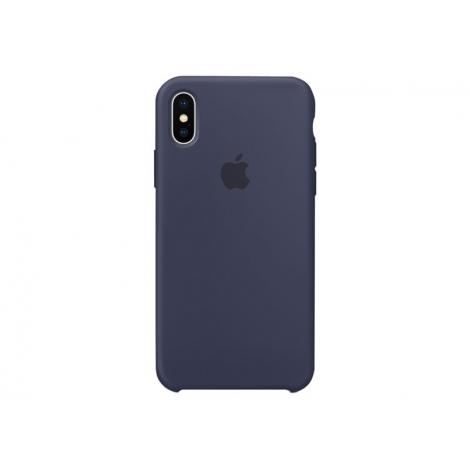Funda iPhone X Apple Silicone Midnight Blue