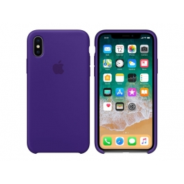 Funda iPhone X Apple Silicone Violet