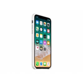 Funda iPhone X Apple Silicone White