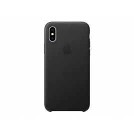 Funda iPhone XS Apple Leather Case Black