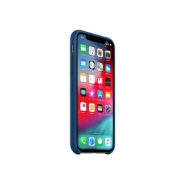 Funda iPhone XS Apple Silicone Blue Horizon