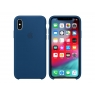 Funda iPhone XS Apple Silicone Blue Horizon