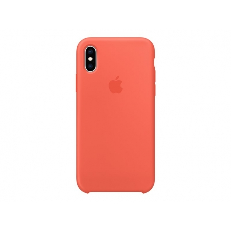 Funda iPhone XS Apple Silicone Nectarine
