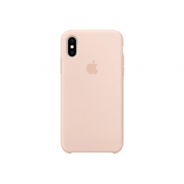 Funda iPhone XS Apple Silicone Pink Sand