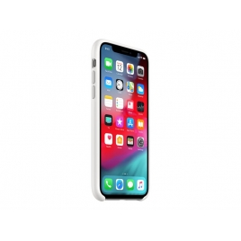 Funda iPhone XS Apple Silicone White