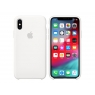 Funda iPhone XS Apple Silicone White