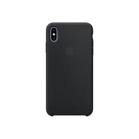 Funda iPhone XS MAX Apple Silicone Black