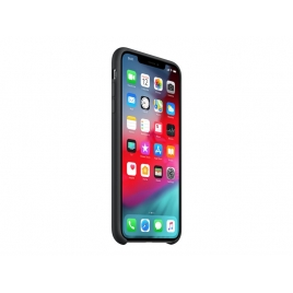 Funda iPhone XS MAX Apple Silicone Black