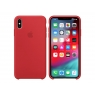 Funda iPhone XS MAX Apple Silicone red