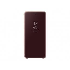 Funda Movil Samsung Clear View Standing Gold para Samsung Galaxy S9+