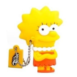 Memoria USB Silver HT 8GB THE Simpsons Lisa