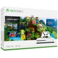 Consola Xbox ONE S 1TB White + Minecraft Complete Collection