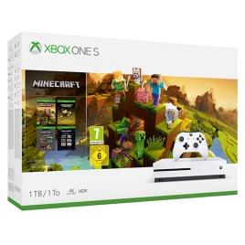 Consola Xbox ONE S 1TB White + Minecraft Creator