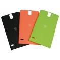 Funda Movil Back Cover Mediacom Black/Orange/Green para Phonepad X500 Pack 3U