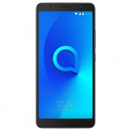 "Smartphone Alcatel ONE Touch 3C 6"" IPS QC 16GB 1GB Android 7 Metallic Black"