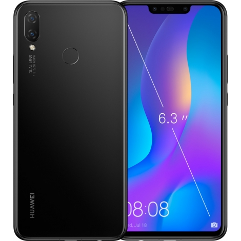 "Smartphone Huawei P Smart + 6.3"" OC 64B 4GB 4G Android 8.1 Black"