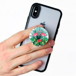 Soporte HT POP Socket Smartphone Flamingos