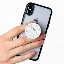 Soporte HT POP Socket Smartphone Marble White