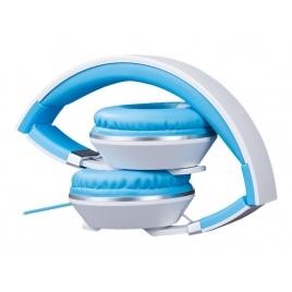 Auricular + MIC Hiditec Cool Kids White/Blue