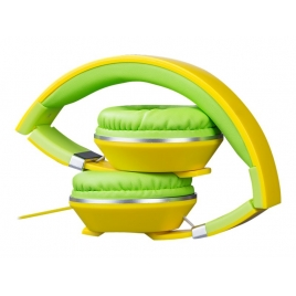 Auricular + MIC Hiditec Cool Kids Yellow