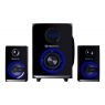 Altavoces Bluetooth Hiditec H500 2.1 100W USB SD Black