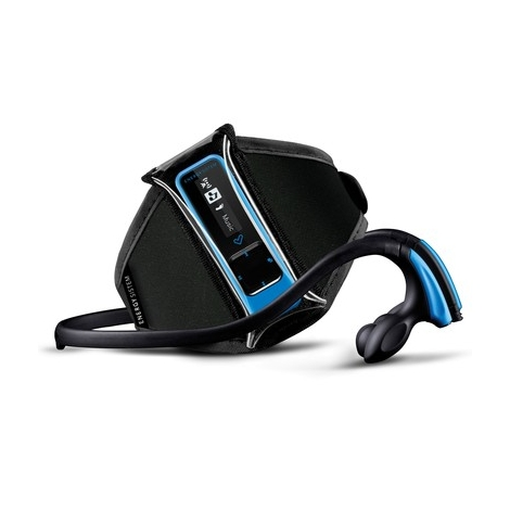 Reproductor Portatil MP3 Energy Running 8GB Neon Blue