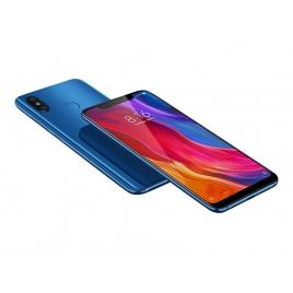 """Smartphone Xiaomi mi 8 6.21"""" OC 128GB 6GB 4G Android 8.1 Blue"""