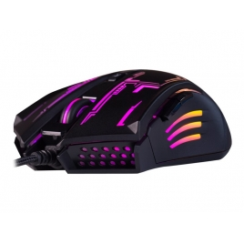 Mouse Hiditec Gaming GX12 2400DPI Black
