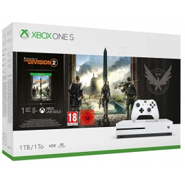 Consola Xbox ONE S 1TB White + THE Division 2