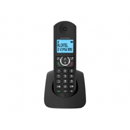 Telefono Inalambrico Alcatel F380S Black
